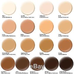 17 Foundation Shades Belloccio Airbrush Cosmetic Makeup System Kit Blush Bronzer