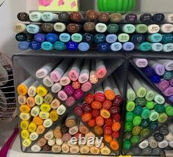216 set Copic Sketch A B and E Markers Lot Bundle Pack Large Custom