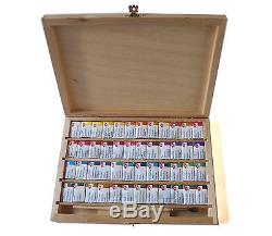 48 Watercolor Paint Set WHITE NIGHTS Extra Fine Birch RUSSIA Russian