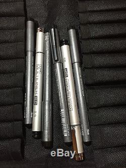 49 Copic Basic Set Fine Liners And Wallet