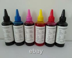 6 bottles/set Pigment Ink for Epson Expression Photo HD XP-15000 printer