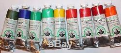 9 Old Holland Classic Ground Oil Paint's Multi-Color Set-FREE PRIORITY SHIPPING