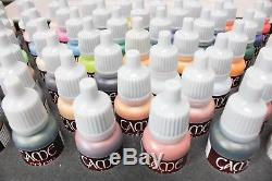 AV Vallejo Box Set of 72 17ml Acrylic Paints For Miniature Game Toys and Crafts