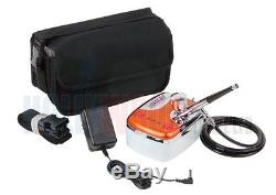 Airbrush Make Up / Beauty Compressor Set 4 With Oxford Case