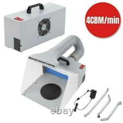 Airbrush Spray Booth Kit Extractor Paint Craft Hobby Craft Filter Set Model