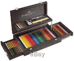 Art & Graphic COLLECTION wood case exclusive set FABER CASTELL 110086