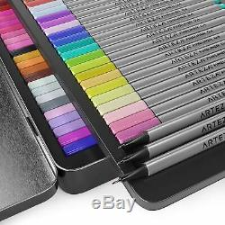 Arteza Fineliners Fine Point Pens, Set Of 102 Fine Tip Markers With 0.4mm Tips
