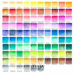 Arteza Real Brush Pens 96 Colours for Watercolour Painting with Flexible Nylon