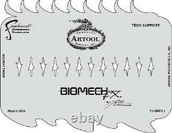 Artool Mike Lavallee Biomech FX Spinal Tap & Tech Support Airbrush Stencil Sets