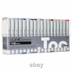 BRAND NEW FREE SHIPPING Copic Sketch Marker 72 Color Set A, B, C, D, E