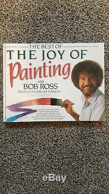 Bob Ross Joy of Painting Master Paint Set with DVD Book, and extra paint