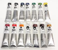 Bob Ross Landscape Oil Colour Paint Set 200ml x 14 Tubes