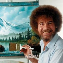 Bob Ross Master Oil Paint Set with Bundle Options for Easel Canvas or Sketch Box