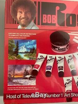 Bob Ross Master Paint Set with Video Collectible Oil Paint Kit 1994 Sealed Vintage