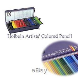Brand-New Holbein Artist Colored Pencil 150color SET in Paper-Box From Japan EMS