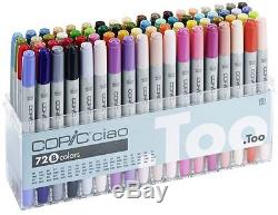 Copic Ciao Pens 72 Set B Manga Graphic Arts + Craft Markers Fast Shipping