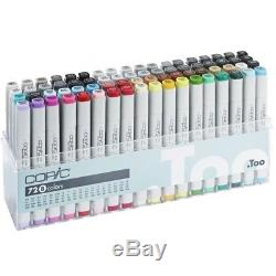 COPIC CLASSIC Marker Set B Box Of 72 New & Sealed RRP £439 UK Seller