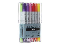 COPIC Markers Ciao 12-Piece Basic Set