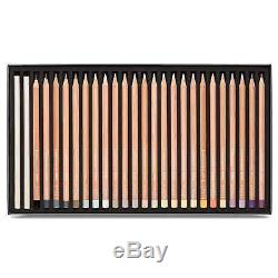 Caran D'Ache Luminance 6901 Colour Pencils set of 76 Highest Quality