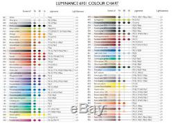 Caran D'Ache Luminance Colour Pencils Artists Quality Worlds Best Colors 6901