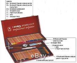 Coloured pencils POLYCOLOR REMBRANDT LYRA 12 to 72 colours in Gift box PRICE