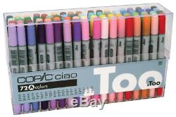 Copic Ciao 72 Colors A set Artist Markers manga comic anime JAPAN import F/S NEW