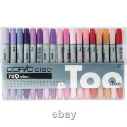 Copic Ciao Double-Tip Markers Set of 72 Pack A