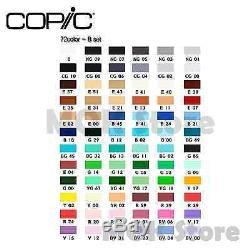 Copic Marker 72 Piece Sketch Set B (Twin Tipped) Artist Markers Anime Comic