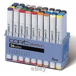 Copic Markers 36-Piece Sketch Basic Set US Seller Sealed Original Packaging NEW