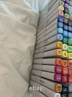 Copic Markers 72 Set C Gently Used With Refills