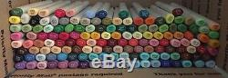 Copic Sketch Marker Lot Of 144 Color Premium Artist Markers No Duplicates New