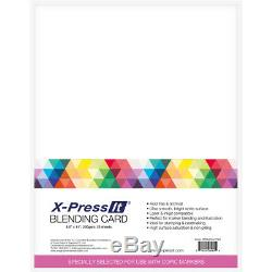Copic Sketch Markers Set 29 + Copic X-Press It Blending Card 8 1/2 X 11