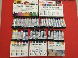 Daniel Smith Extra Fine 38 Watercolor Paint Set 38 Tubes in 5ml with gift