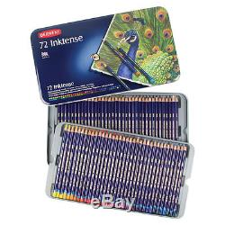 Derwent Inktense Pencils Tin box set 12 24 36 72 Genuine ARTISTS DRAWING color