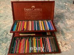 Faber-Castell Germany Polychromos Colored Pencil 100 Set Gift Collector Box