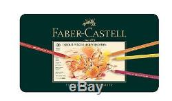 Faber Castell Polychromos Color Pencil Set Tin of 120 Tin of 120 Pcs New