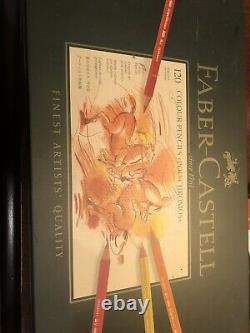 Faber Castell Polychromos Colored Pencils Tin Set Of 120 (119 One Missing)