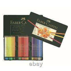 Faber Castell Polychromos Colored Pencils Tin Set Of 60 Assorted Colors