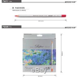 Fine Art 72 Color Marco Drawing Oil Base Non-toxic Pencils set for Artist Sketch