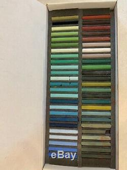 GIRAULT SOFT PASTEL SET of 50 LANDSCAPE SLIGHTLY USED