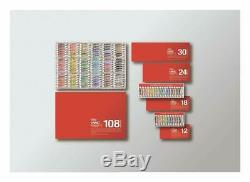 HOLBEIN JAPAN Transparent Watercolor 60 Colors Set W411 Free shipping s7325