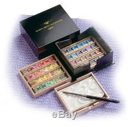 HOLBEIN solid watercolors artist color 48-color set lacquer CUBE PN699