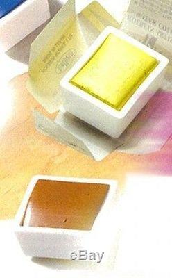 HOLBEIN solid watercolors artist color 48-color set lacquer CUBE PN699 F/S