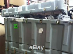 Huge Ultimate Military Battalion Drafting Equipment Set! New In Hardigg Case