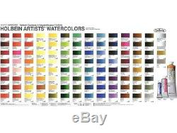 Holbein 108 colors Tube Paint Set Watercolors Artists Water Color 5ml HWC