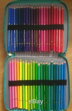 Holbein 150 Color Pencil Set with pencil case included