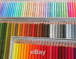 Holbein Artist Colored Pencil 150 Colours Set in Paper Box Art Paint EMS