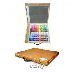 Holbein Artists' Soft Pastel Set of 250 Colors Wooden Box shipping from Japan