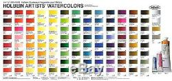 Holbein Artists Transparent Watercolor W422 108 Colors Set 5ml Tubes HWC