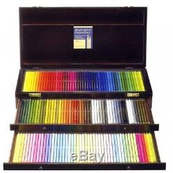 Holbein Artists' colored Pencil of 150 colors Wood Box Set Gift OP946 From Japan